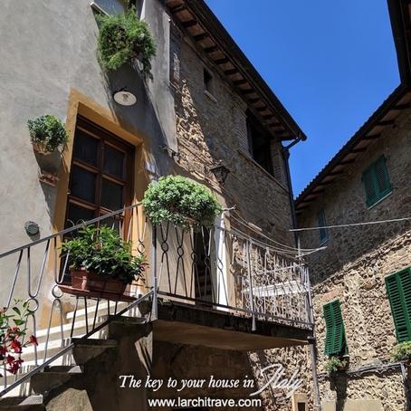 2-Unit stone house in heart of Italian village for $113k