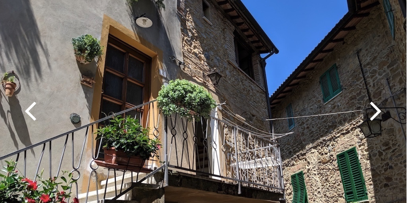 2-Unit stone house in heart of Italian village for $113k