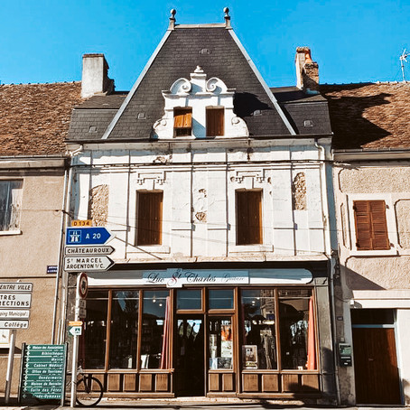 Music Store + Apartment in France for $124k