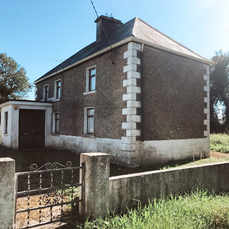 Traditional Irish Farmhouse on 1/2 Acre for $59k