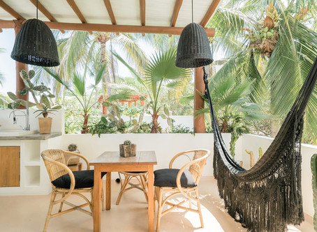 Indoor-Outdoor Living Surrounded by Greenery in Mexico for $76/nt