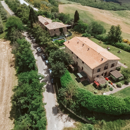 Apartment set in renovated farmhouse in Tuscany for $79k