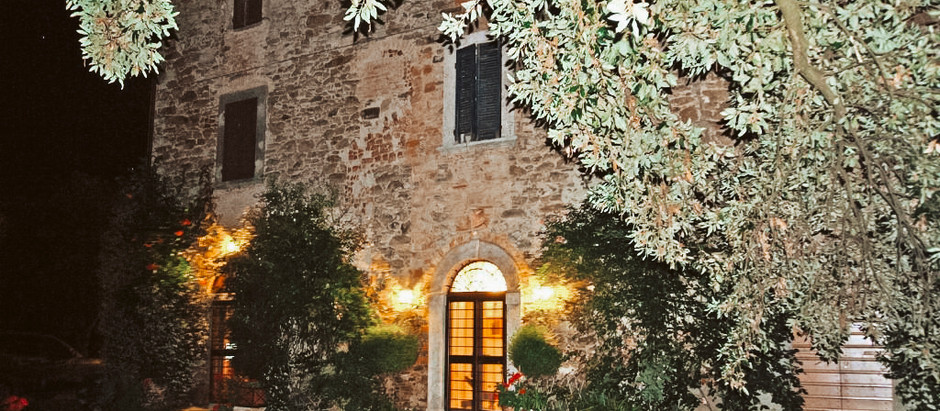 Tuscan villa with private lake & 4.5 acres for $547k