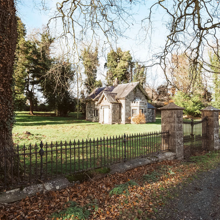 Historic Gate Lodge in Ireland Fixer for $122k