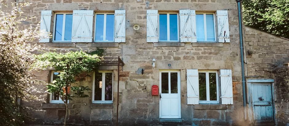 French village house w/ garden for  $72k