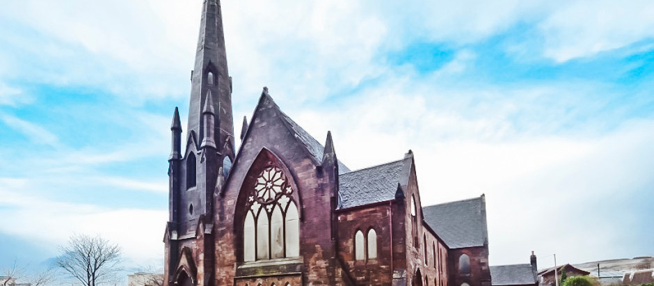 19th C Gothic Church in Scotland for $153k
