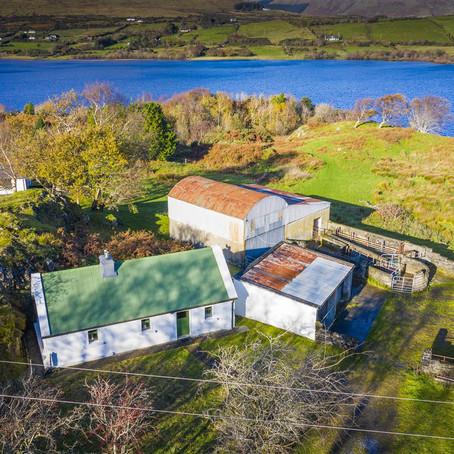 Lakeside Cottage on 16 Acres in Ireland