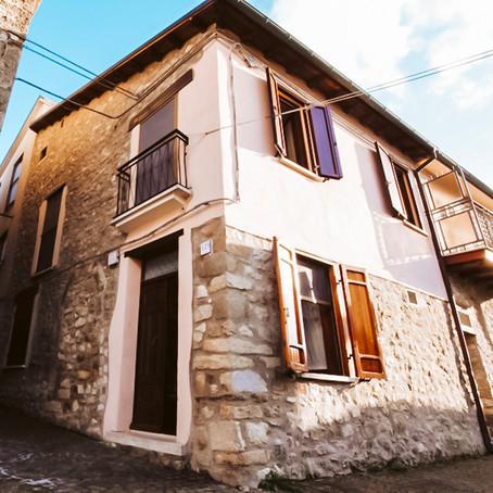 Italian village house for $43k
