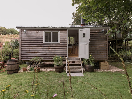 Shepherd's Hut in UK for $92/nt