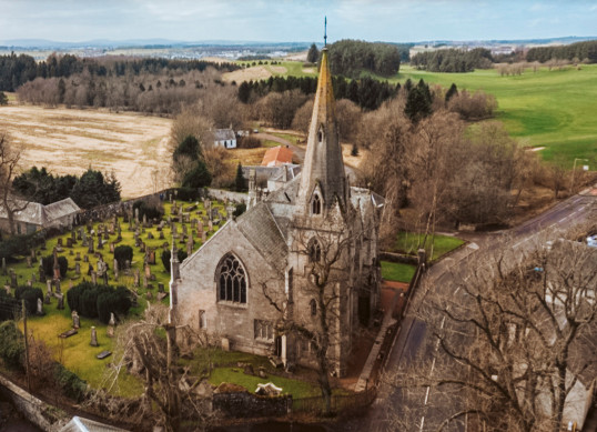 Gothic Church in Scotland for $163k