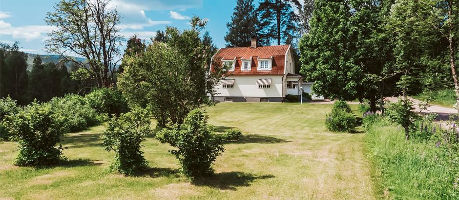 Stunning 1920's Villa In Sweden