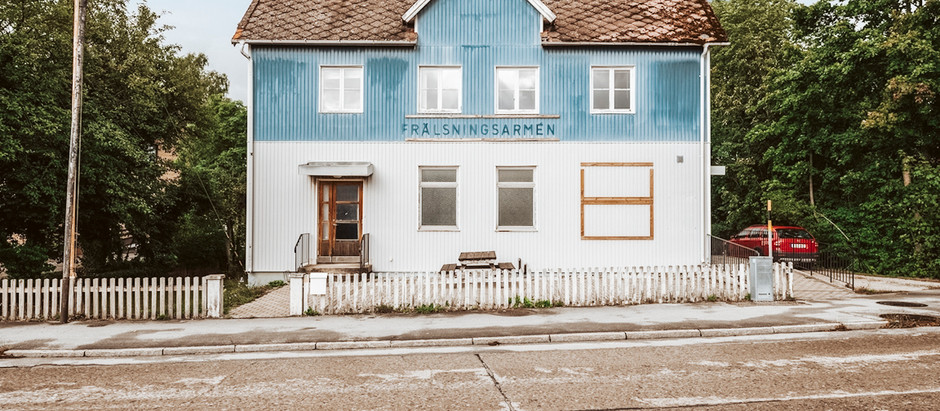 Former Salvation Army Building in Sweden for $126k
