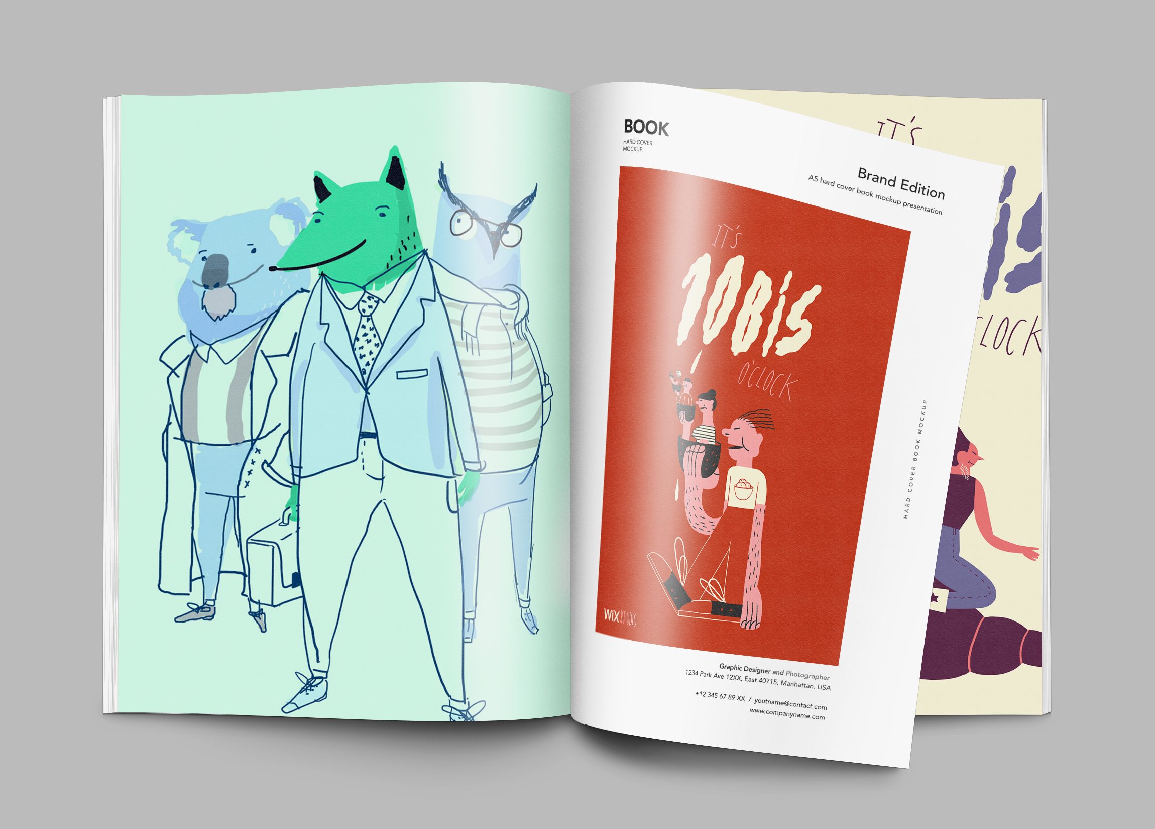 Magazin Illustrationen