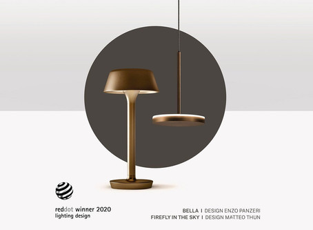 Panzeri received a Red Dot Design Award 2020
