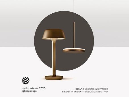 Panzeri received a Red Dot Design Award 2020