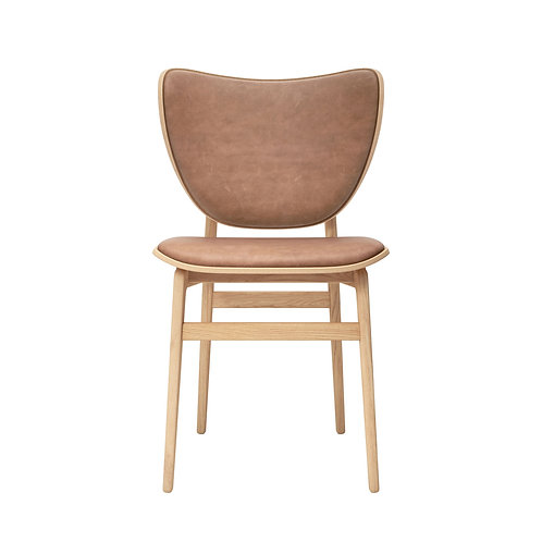 Elephant Dining Chair, Natural Frame / LeatherElephant Dining Chair, Natural Fra