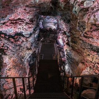 The Lava Tunnel | EFLA | Photographer Petur Thor