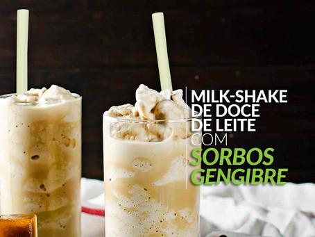 Milk-shake de doce de leite e milk-shake de cerveja: receitas completas com Sorbos