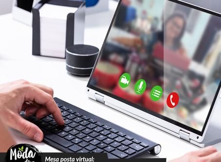 Mesa posta virtual: como se aproximar dos seus clientes em época de distanciamento social?