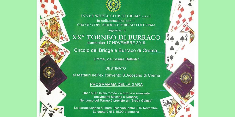 XX° TORNEO DI BURRACO