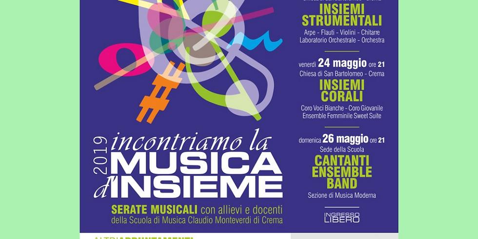 INCONTRIAMO LA MUSICA D'INSIEME 2019
