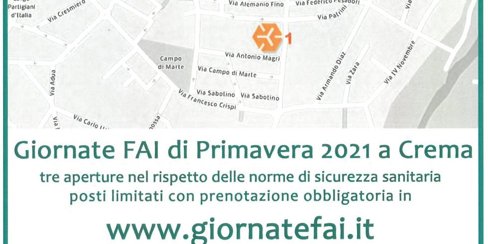GIORNATE FAI DI PRIVAMERA 2021 A CREMA