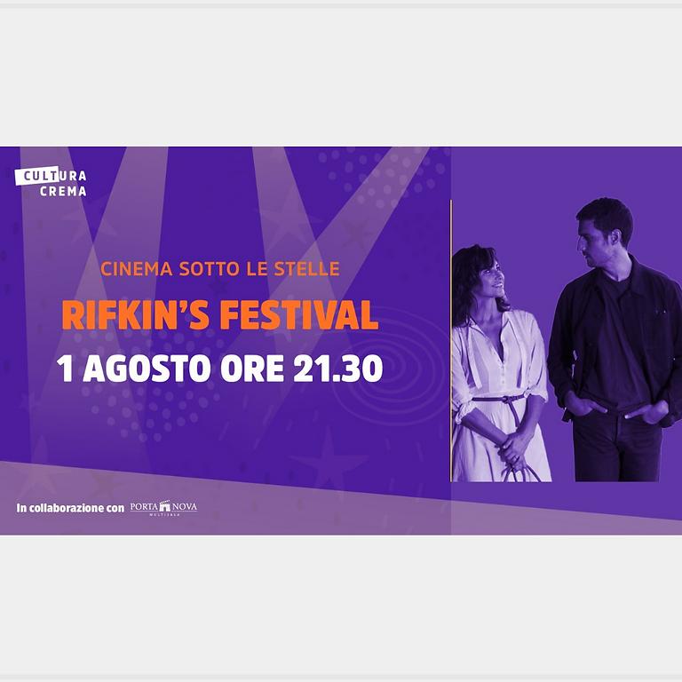 CINEMA SOTTO LE STELLE -  RIFKIN'S FESTIVAL