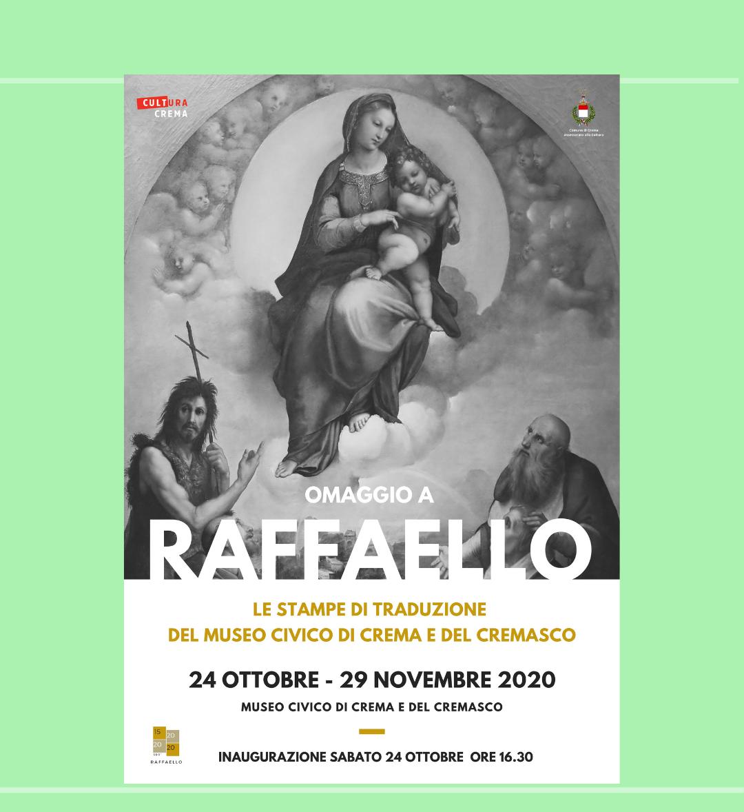 G 2020-10-24 fino al 29-11 Raffaello