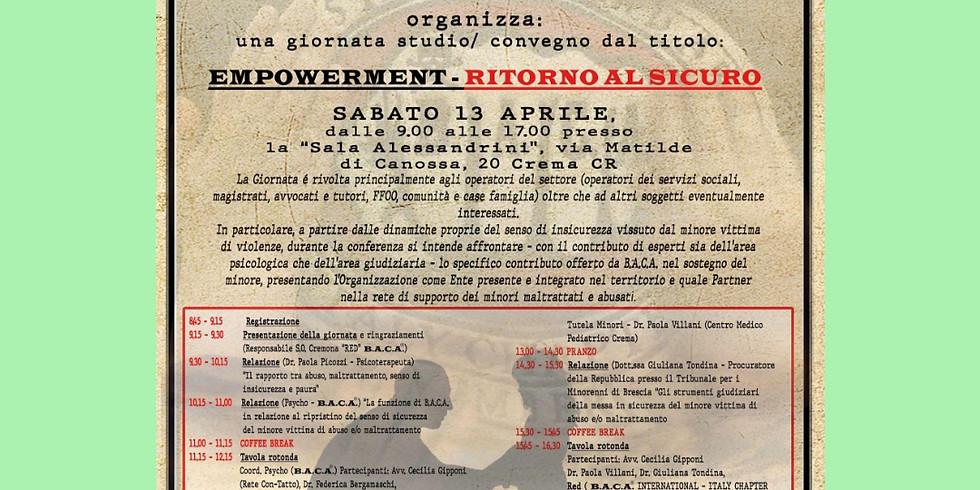 EMPOWERMENT - RITORNO AL SICURO