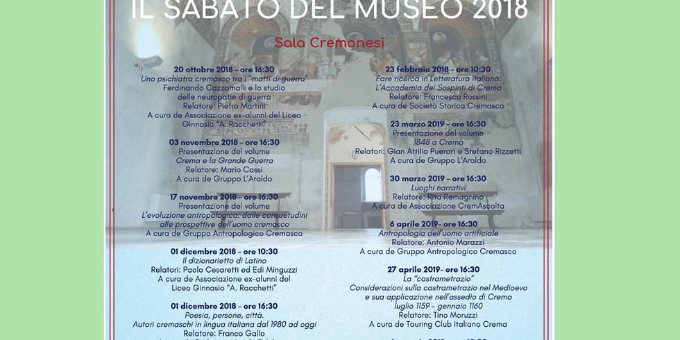 IL SABATO DEL MUSEO