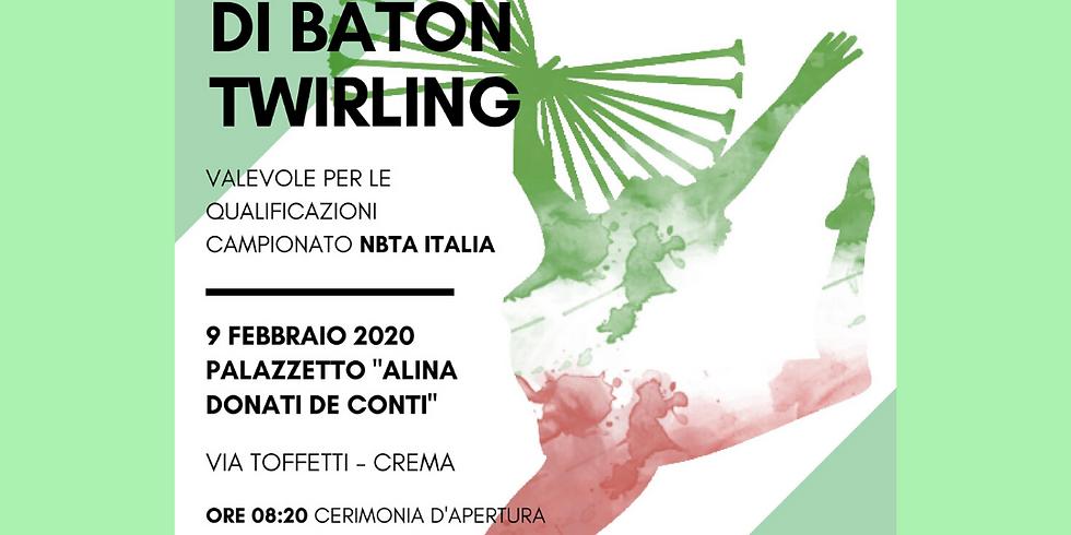 GARA SOCIALE DI BATON TWIRLING