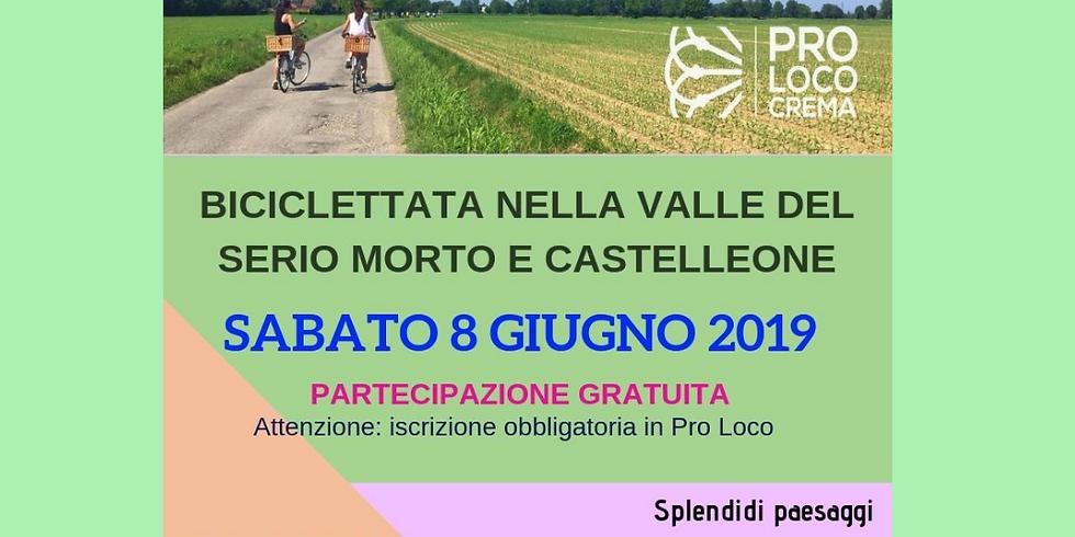 BICICLETTATA NELLA VALLE DEL SERIO MORTO E CASTELLEONE