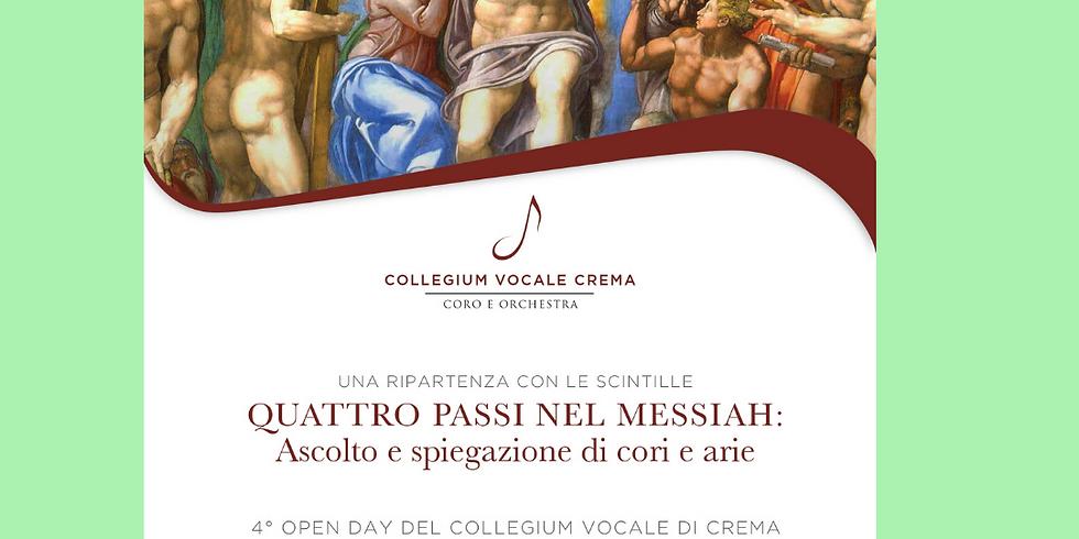 QUATTRO PASSI NEL MESSIAH