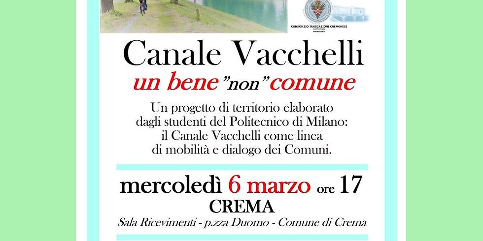 """CANALE VACCHELLI UN BENE """"NON"""" COMUNE"""