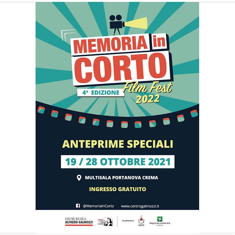 FILM FESTIVAL – MEMORIA IN CORTO 2021