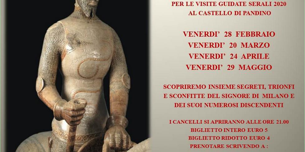 VISITE GUIDATE SERALI AL CASTELLO VISCONTEO