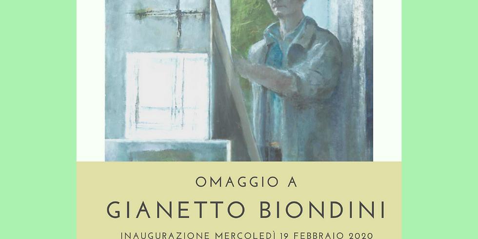 OMAGGIO A GIANETTO BIONDINI
