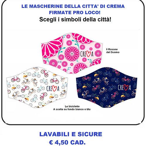 LE MASCHERINE DELLA CITTA' DI CREMA! Firmate Pro Loco
