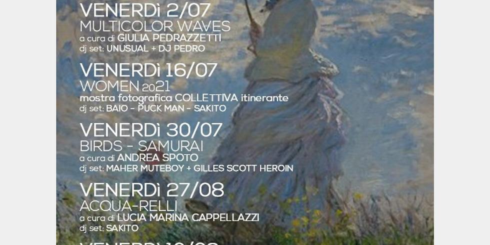 ART PARK VERNISSAGE - WOMEN 2021 - MOSTRA FOTOGRAFICA ITINERANTE