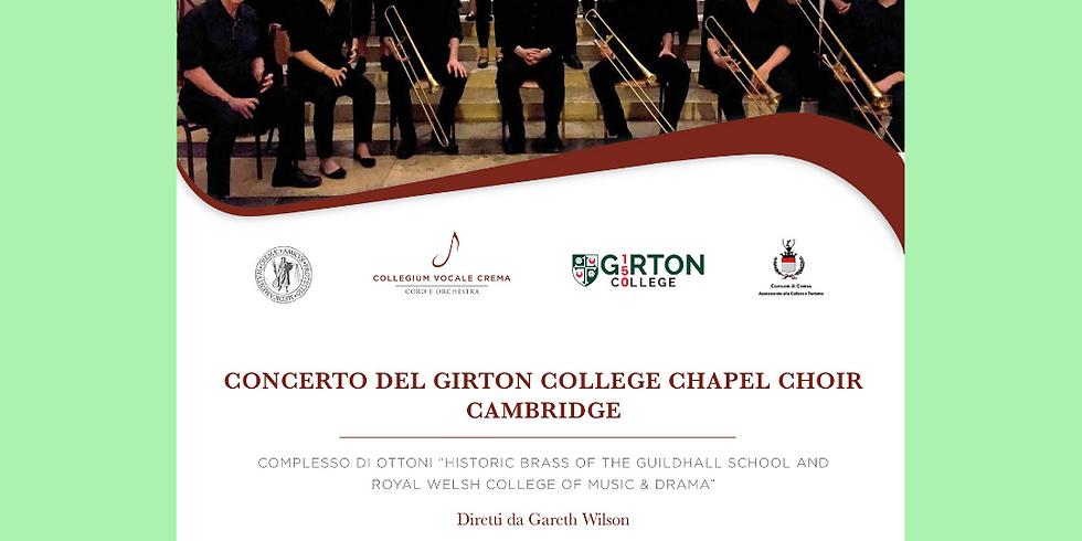 CONCERTO DEL GIRTON COLLEGE CAMBRIDGE