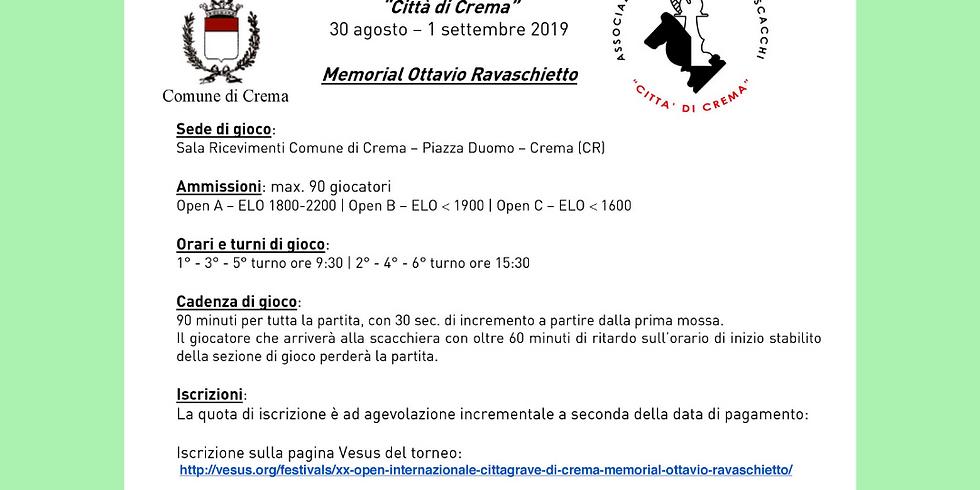 MEMORIAL OTTAVIO RAVASCHIETTO