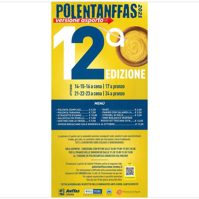 POLENTANFFAS 2021 - VERSIONE ASPORTO