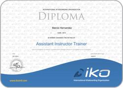 certificate_IKO-Assistant Trainer