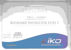certificate_IKO-level 1