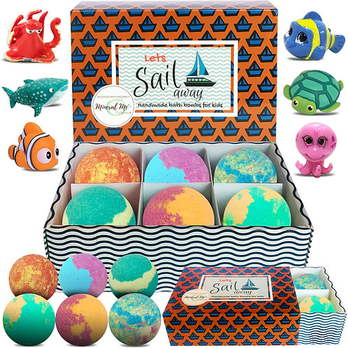 Sea Animal Bath Bombs