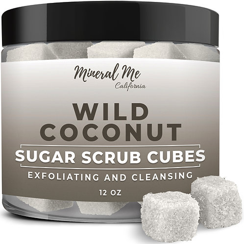 Coconut Body Scrub Cubes
