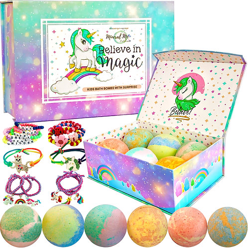 Unicorn Jewelry Bath Bombs
