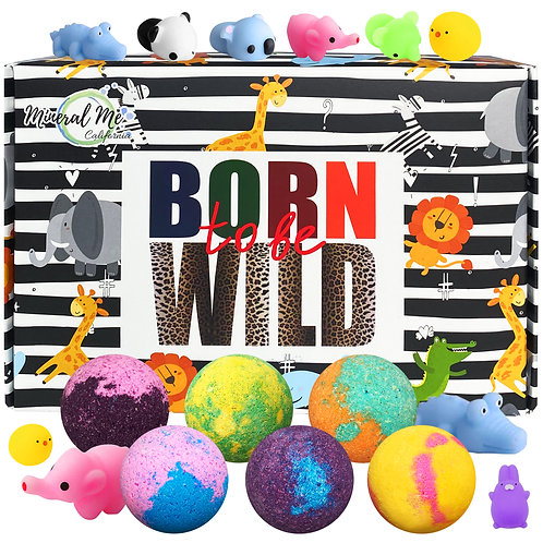 Born to be wild - Kids Bath bombs with toys inside
