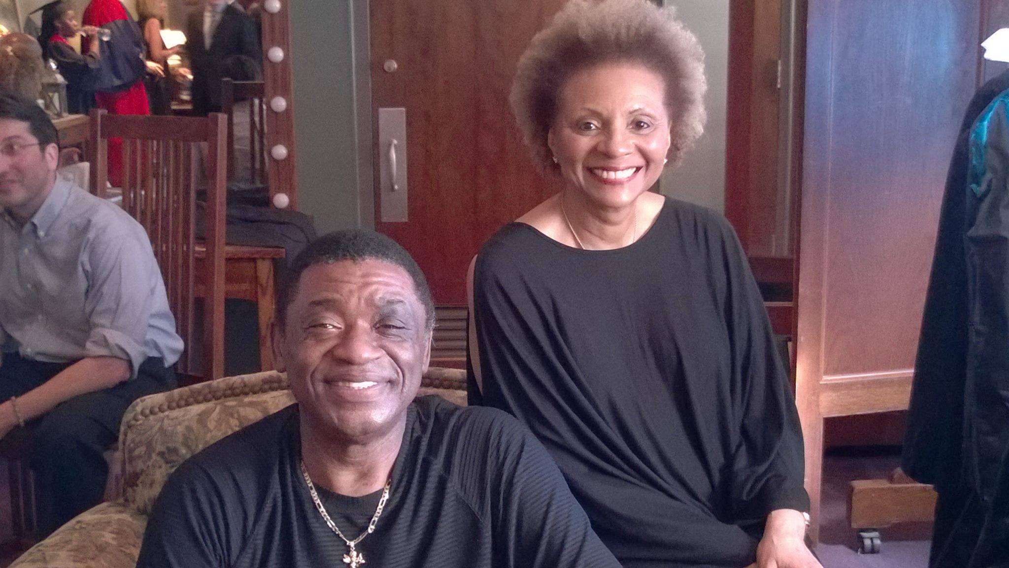 Me with Leslie Uggams