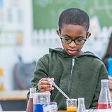 Children in Science Class